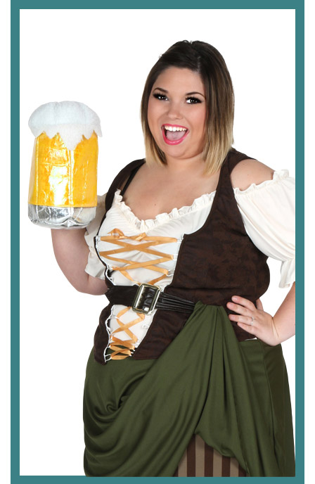 Womens German Girl Costume Accessories