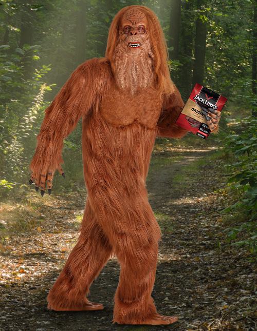 Jack Links Sasquatch Costume for Big Men