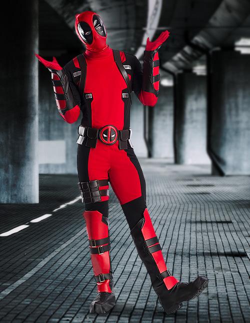 Plus Size Deadpool Costume