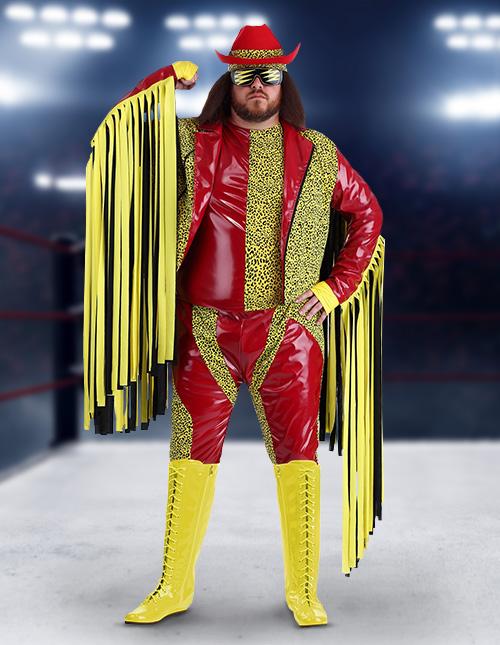 Plus Size Macho Man Costume