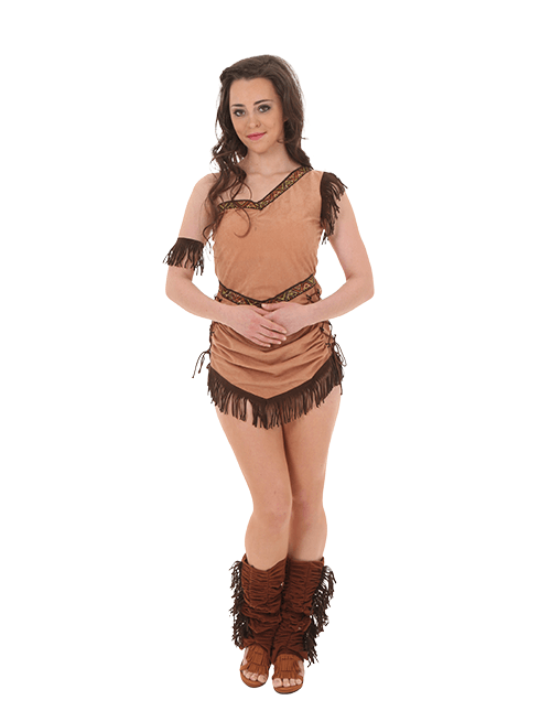Pocahontas Tribal Princess Pose