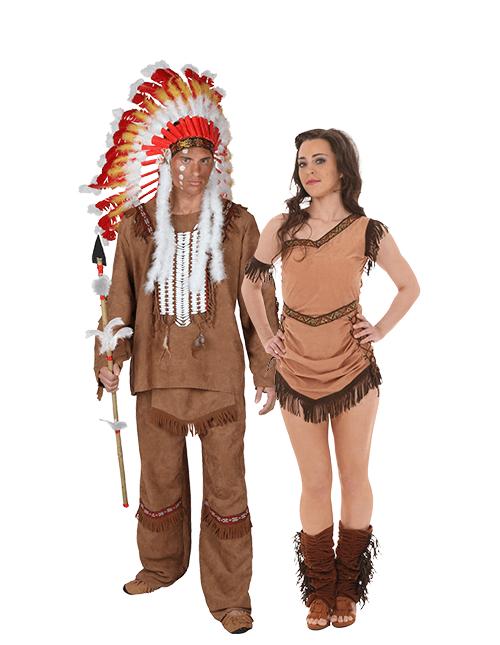 Pocahontas and Indian Chief Couples Costume  sc 1 st  Halloween Costumes & Pocahontas Costumes - HalloweenCostumes.com