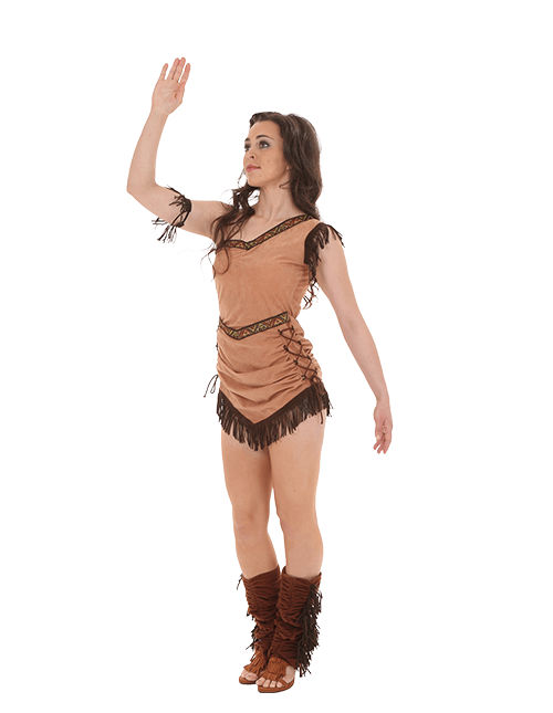 Pocahontas Wave Pose