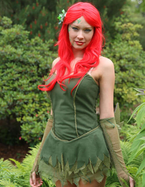 Poison Ivy may only be capable of showing affection toward anything that is green and growing. Sorry Batman and Robin it appears as though the Vined Vixen ...  sc 1 st  Halloween Costumes & Poison Ivy Halloween Costumes