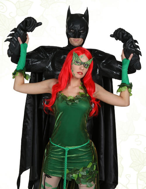 Poison Ivy and Batman Costumes