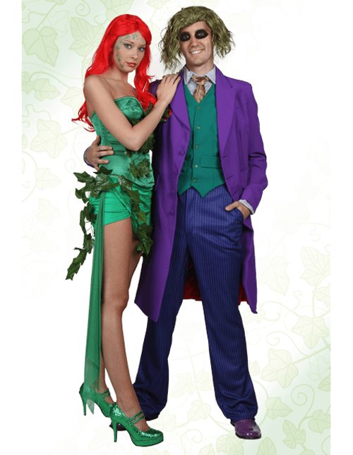 Poison Ivy and Joker Costumes