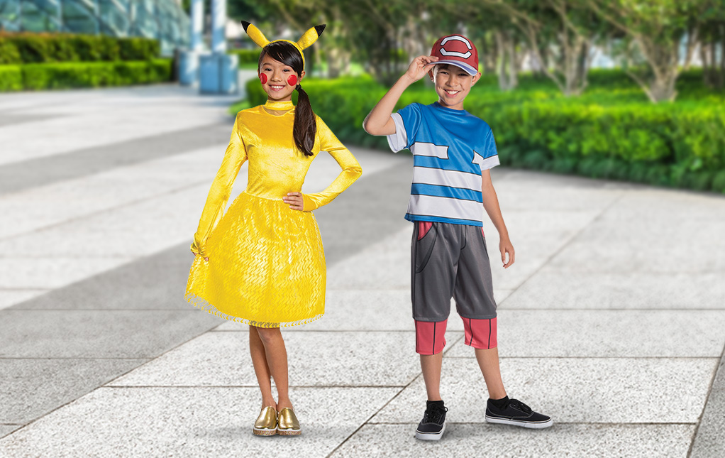 Ash and Pikachu Costumes