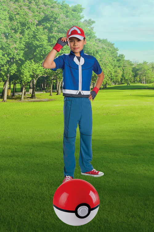 Deluxe Ash Costume for Kids  sc 1 st  Halloween Costumes : pokemon costumes ash  - Germanpascual.Com