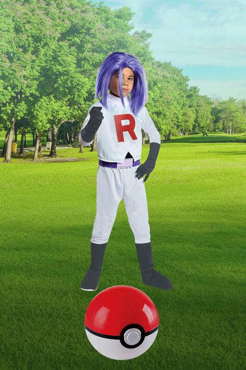 Pokémon James Costume for Kids
