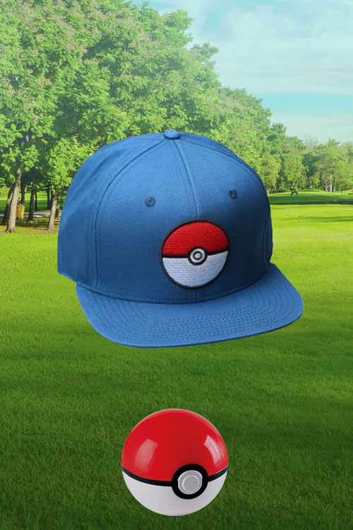 Pokémon Blue Snapback Hat