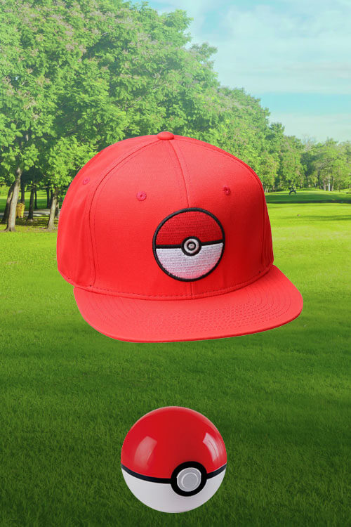 Pokémon Red Snapback Hat