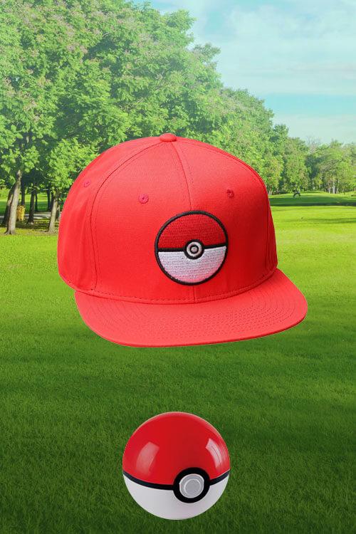 Pokémon Red Snapback Hat