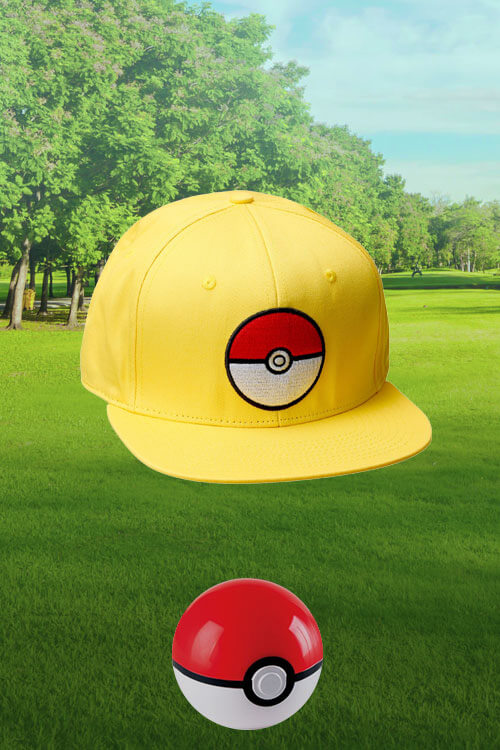 Pokémon Yellow Snapback Hat