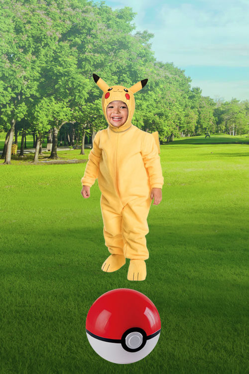 Toddler Pikachu Costume
