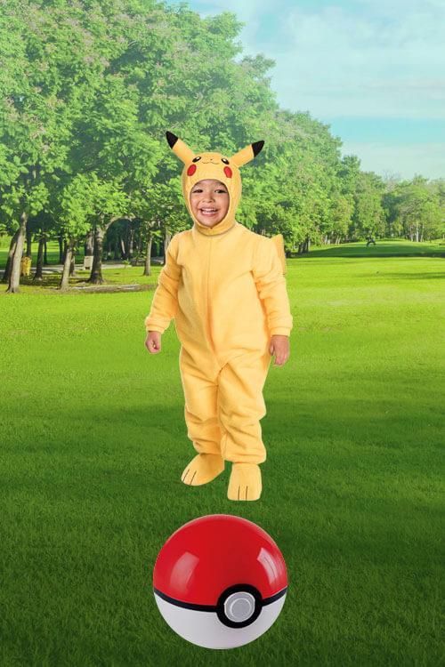 Toddler Pikachu Costume