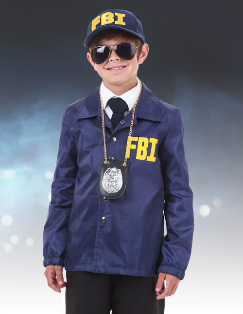 FBI & Police Officer and Cop Costume - Adults Sexy Kid Police Costume