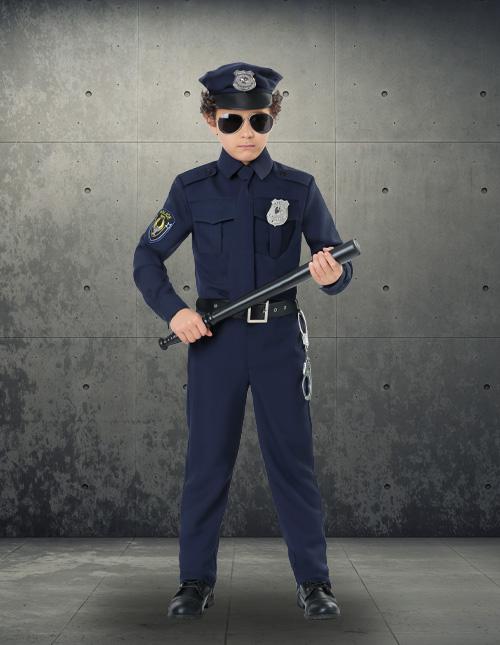 Boy's Police Costume