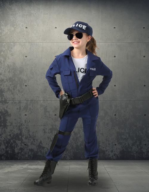 Girl's Police Costume