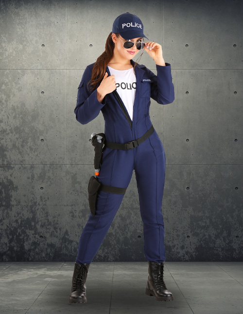 Police Woman Costume