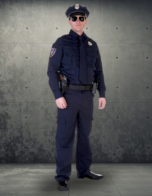 Realistic Police Officer Costume