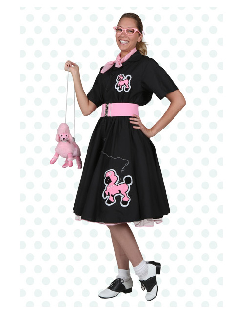 Cheerleader Poodle Skirt