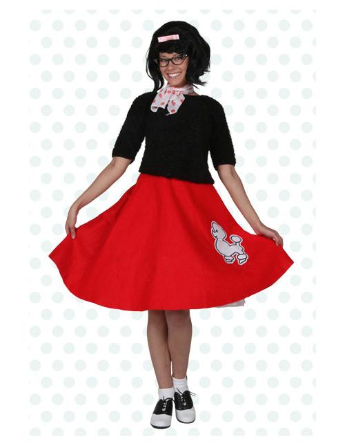 Valedictorian Poodle Skirt