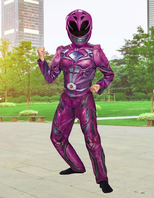 Girls Pink Power Ranger Costume