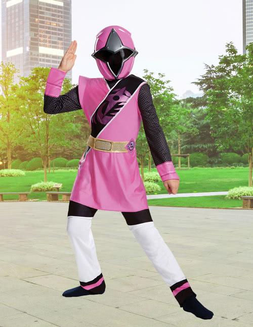 Girls Ninja Steel Power Ranger Costume