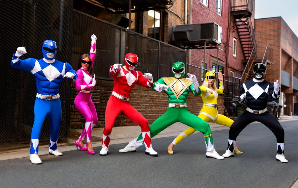 Adult Power Rangers Costumes