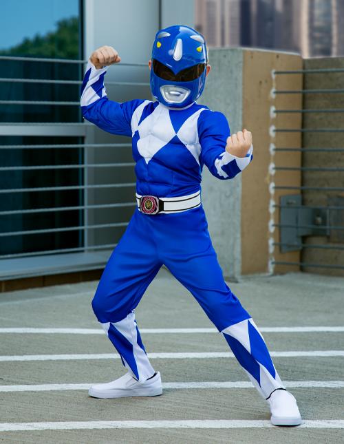Blue Power Ranger Costumes