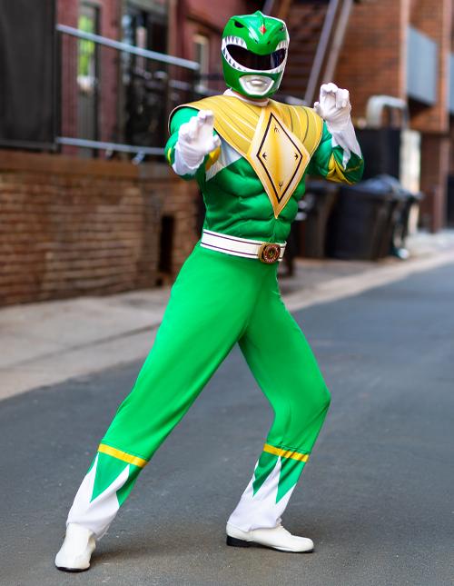 Green Power Ranger Costumes