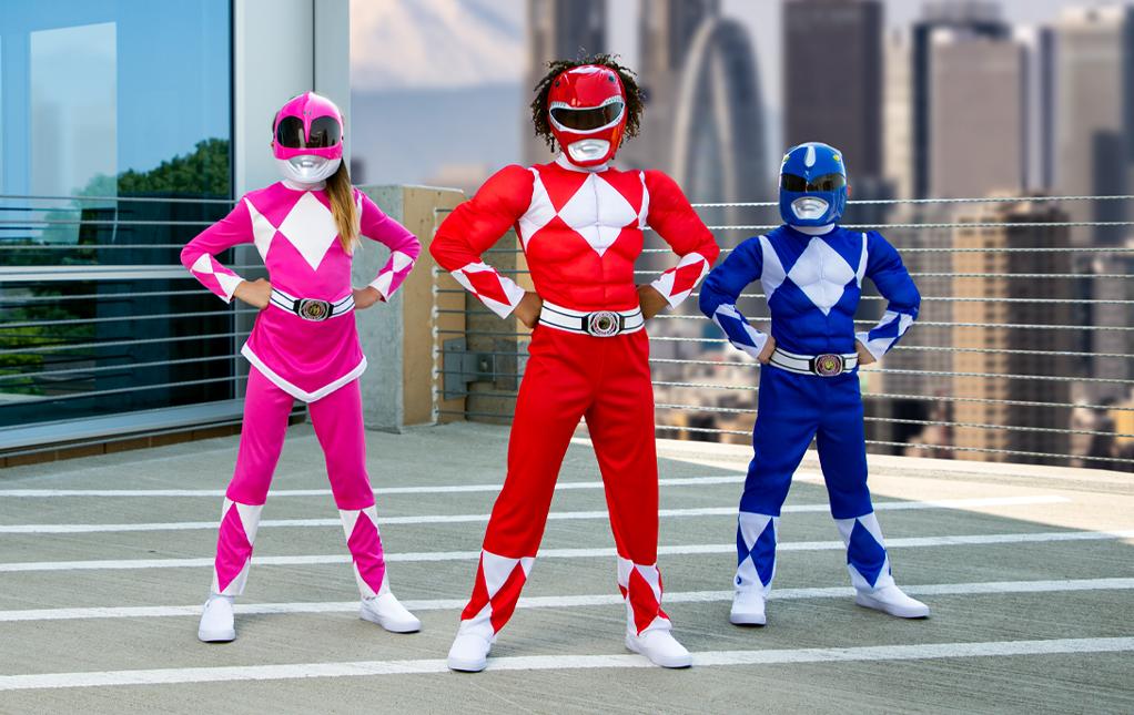 Power Rangers Costumes Kids