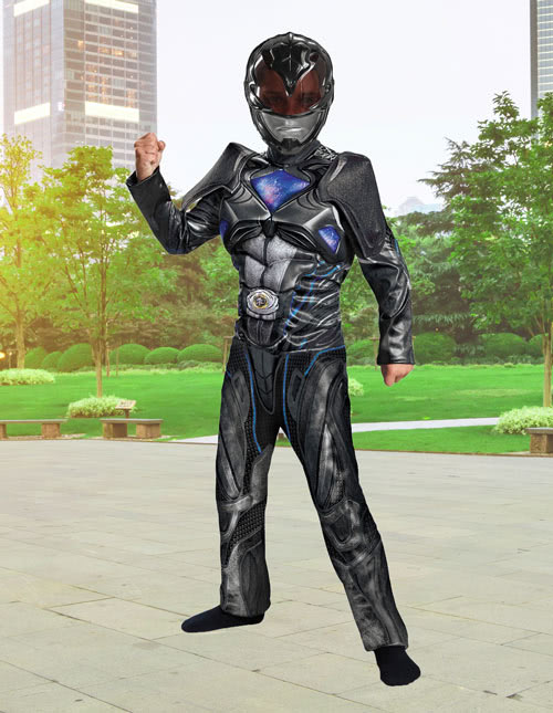 Kids Black Ranger Costume