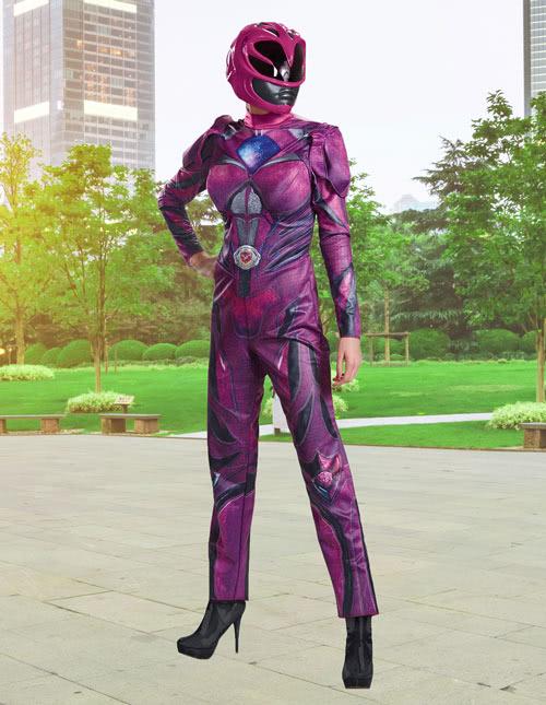 Pink Ranger Costume