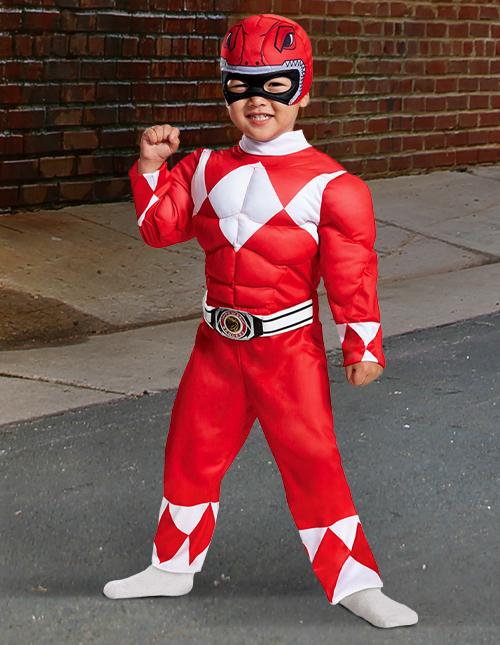 Toddler Power Ranger Costumes