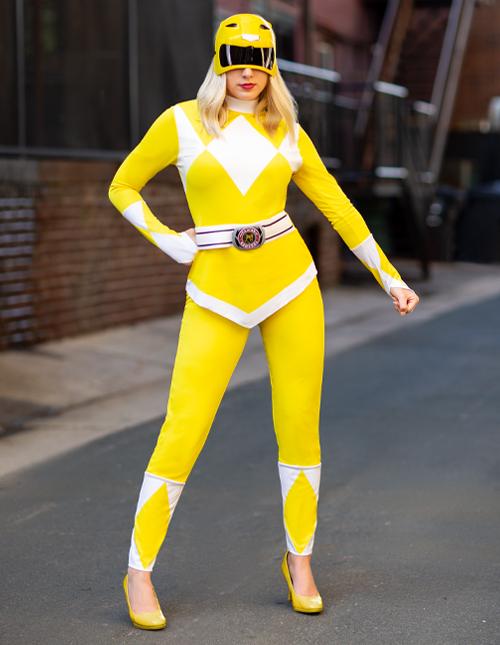 Yellow Power Ranger Costumes