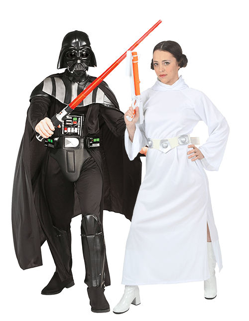 Princess Leia and Darth Vader Couples Costumes