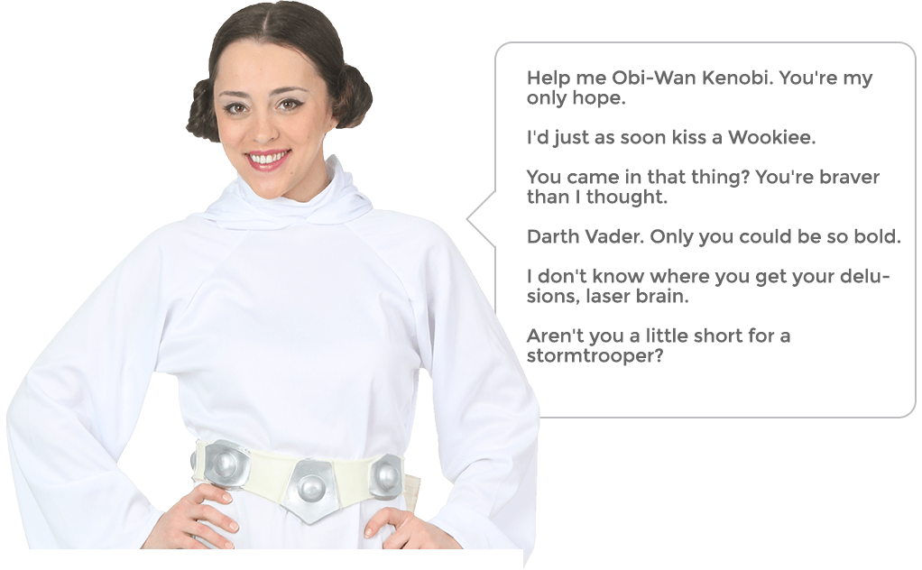 Princess Leia Quotes