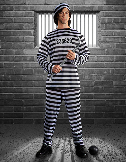 Adult Prisoner Costume