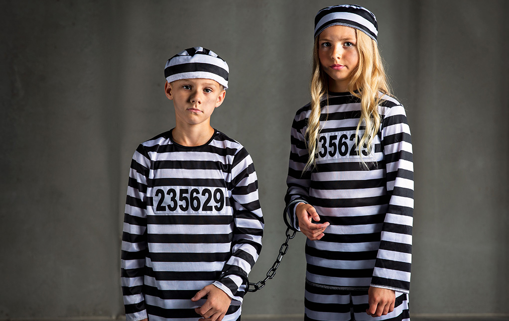 Kids' Prisoner Costume