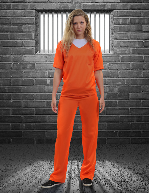 Orange Prisoner Costume