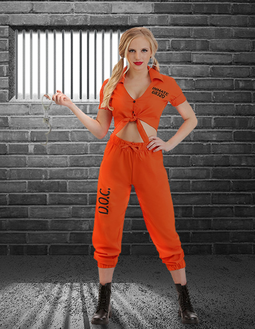 Sexy Inmate Costume