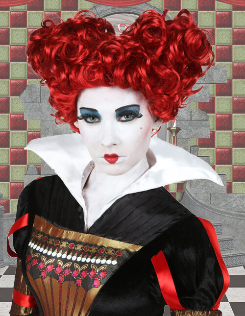Queen of Hearts Wig