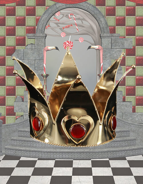 Queen of Hearts Crown