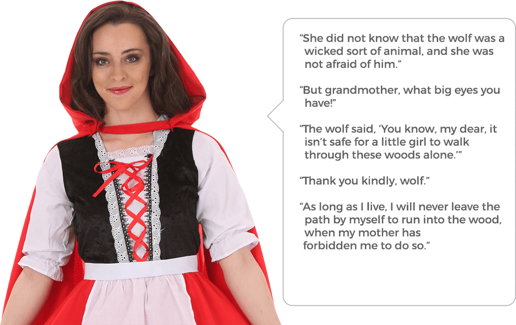 Red Riding Hood Quotes
