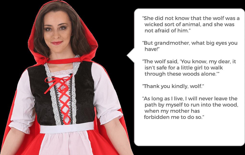 e2e059d0 Little Red Riding Hood Costumes - HalloweenCostumes.com