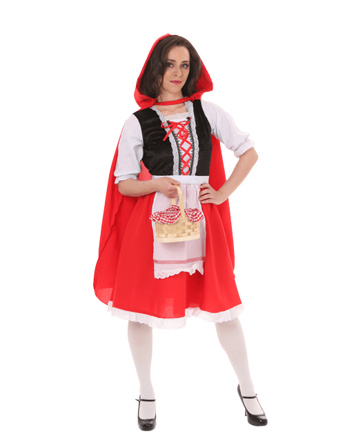 Red Riding Hood Brave Pose