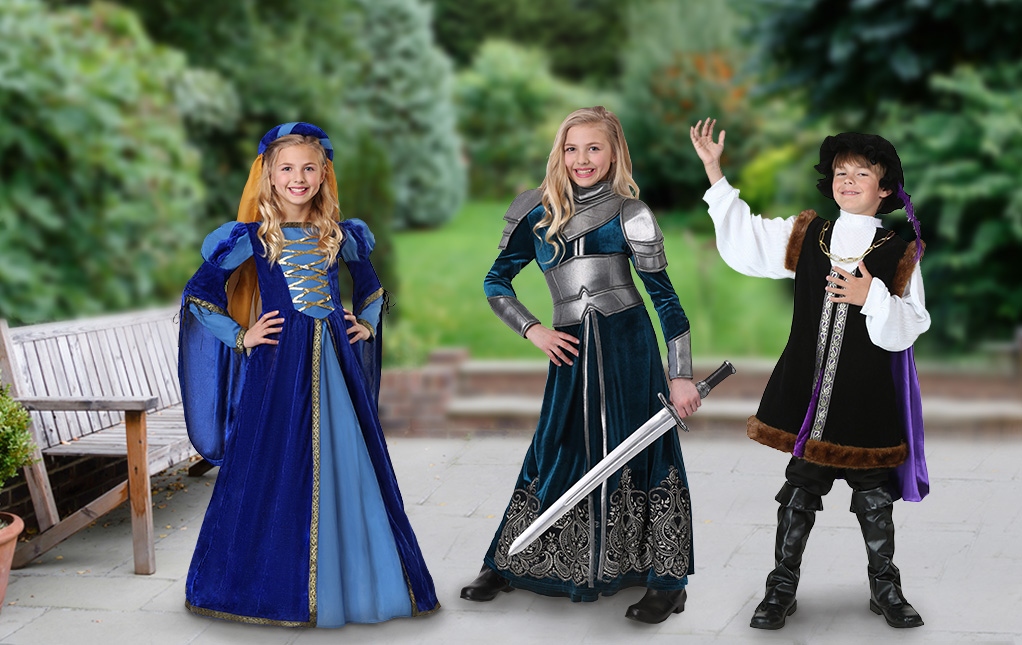 Renaissance Costumes for Kids
