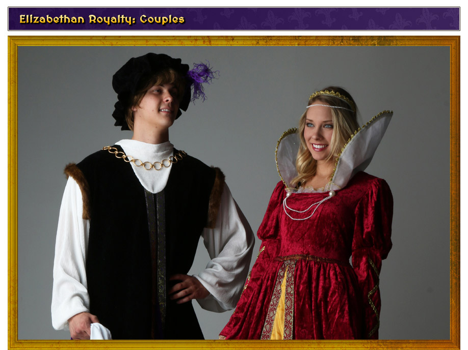 Elizabethan Royal Couple Costume Idea