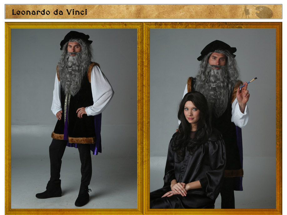 Leonardo da Vinci Costume Idea